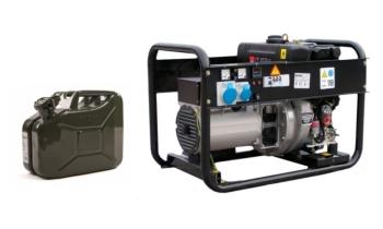 Определяем расход топлива генератора